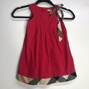 Burberry London little girls dress size XXL
